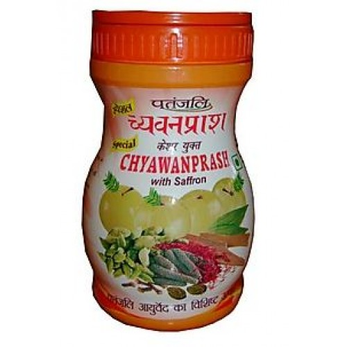 PATANJALI CHYAWANPRASH - CHAWANPRASH WITH SAFFRON - 1 KG