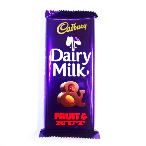 DAIRY MILK FRUIT & NUT - 36 GM