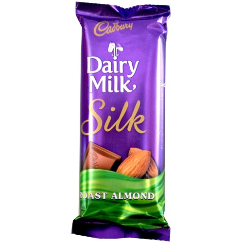DAIRY MILK ROAST ALMOND - 36 GM