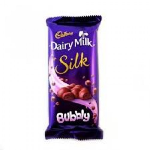 DAIRY MILK SILK BUBBLY - 50 GM