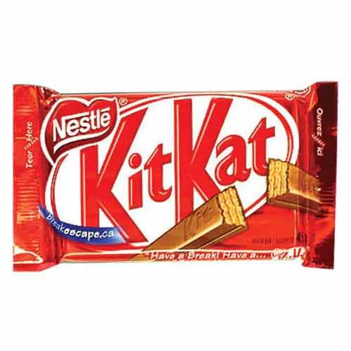NESTLE KITKAT CHOCOLATE - 18 GM PLUS FREE