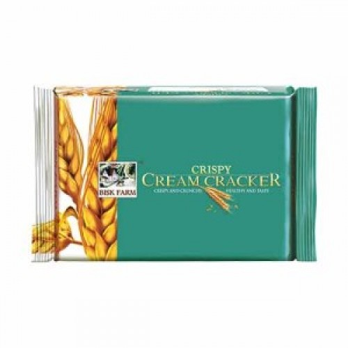 BISK FARM CRISPY CREAM CRACKER BISCUITS - 250 GM