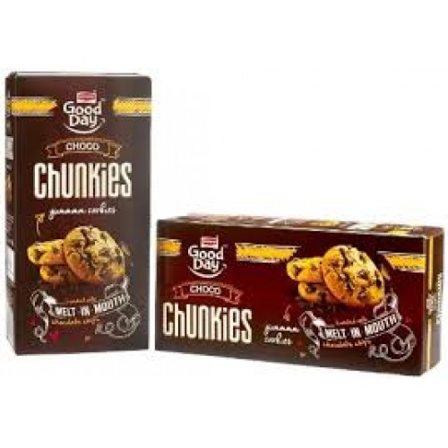 BRITANNIA GOOD DAY BISCUITS - CHUNKIES - 100 GM