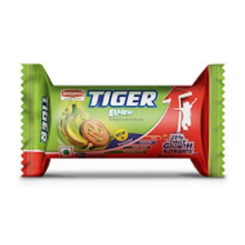 BRITANNIA TIGER CREAM BISCUITS - ELAICHI -  86 GM