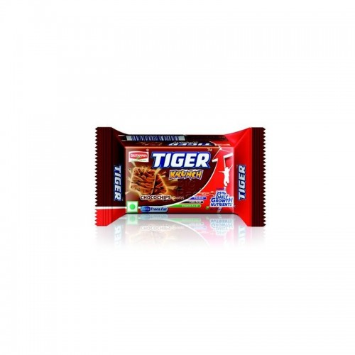 BRITANNIA TIGER KRUNCH CHOCOCHIPS BISCUITS - 40 GM X 2