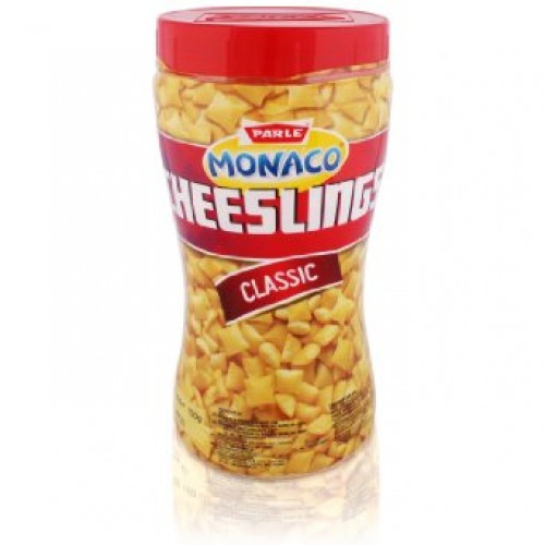 PARLE CHEESLINGS BISCUITS - CLASSIC -  150 GM JAR