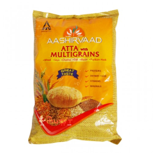 AASHIRVAAD ATTA MULTIGRAINS - ATA - WHEAT - 1 KG