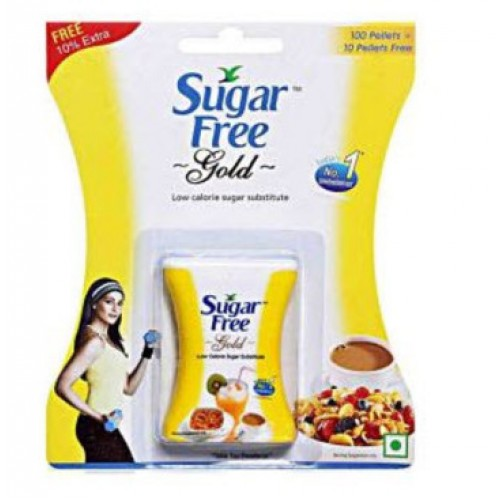 SUGAR FREE GOLD PALLET - 100 PCS