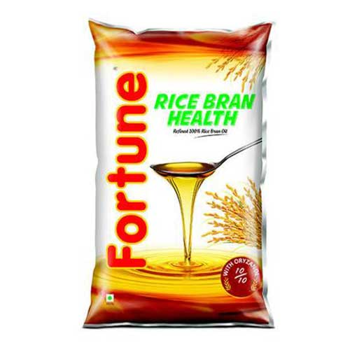 FORTUNE RICE BRAN HEALTH REFINED OIL - 1 LTR