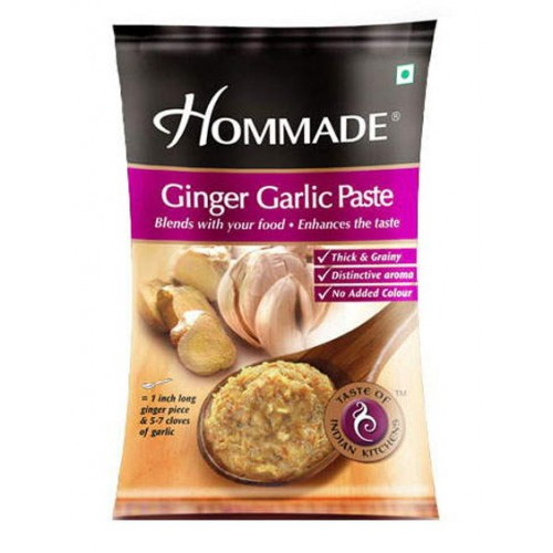 DABUR HOMEMADE GINGER - GARLIC PASTE - 100 GM