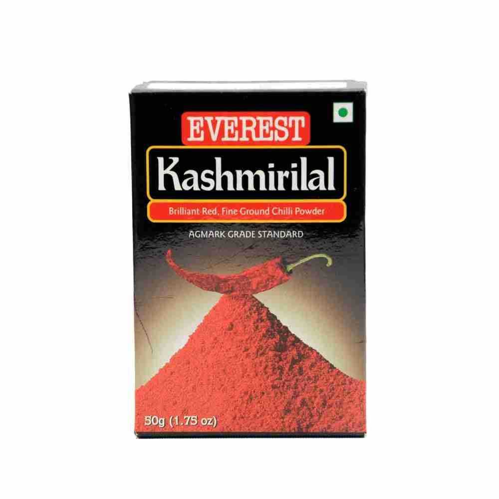 EVEREST KASHMIRI LAL RED CHILLI POWDER - MIRCHI - LANKA - 50 GM