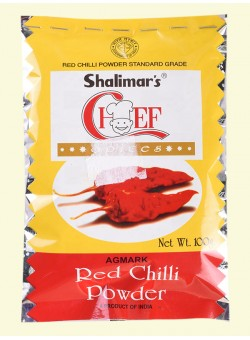 SHALIMAR RED CHILLI POWDER - MIRCHI - LANKA - 50 GM