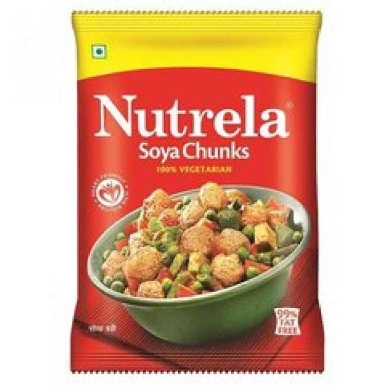 NUTRELA SOYA CHUNKS (RED) - 80 GM