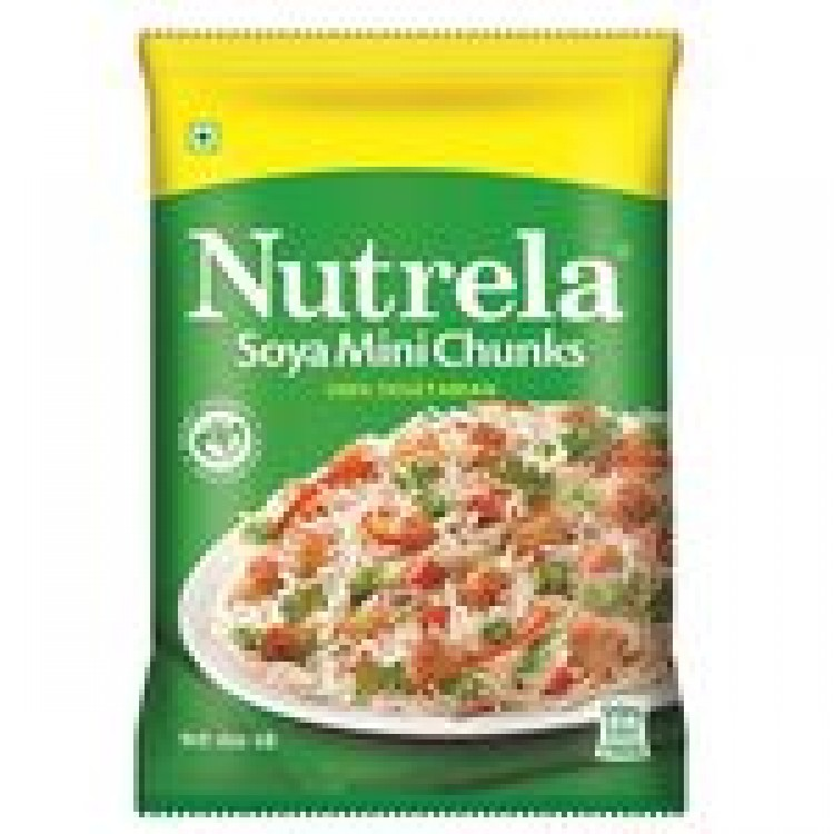 NUTRELA SOYA CHUNKS MINI (GREEN) - 45 GM