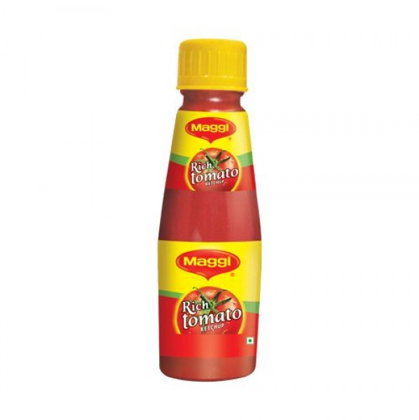 MAGGI KETCHUP - RICH TOMATO -  200 GM BOTTLE
