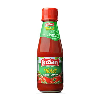 KISSAN CHILLI TOMATO SAUCE - 200 GM