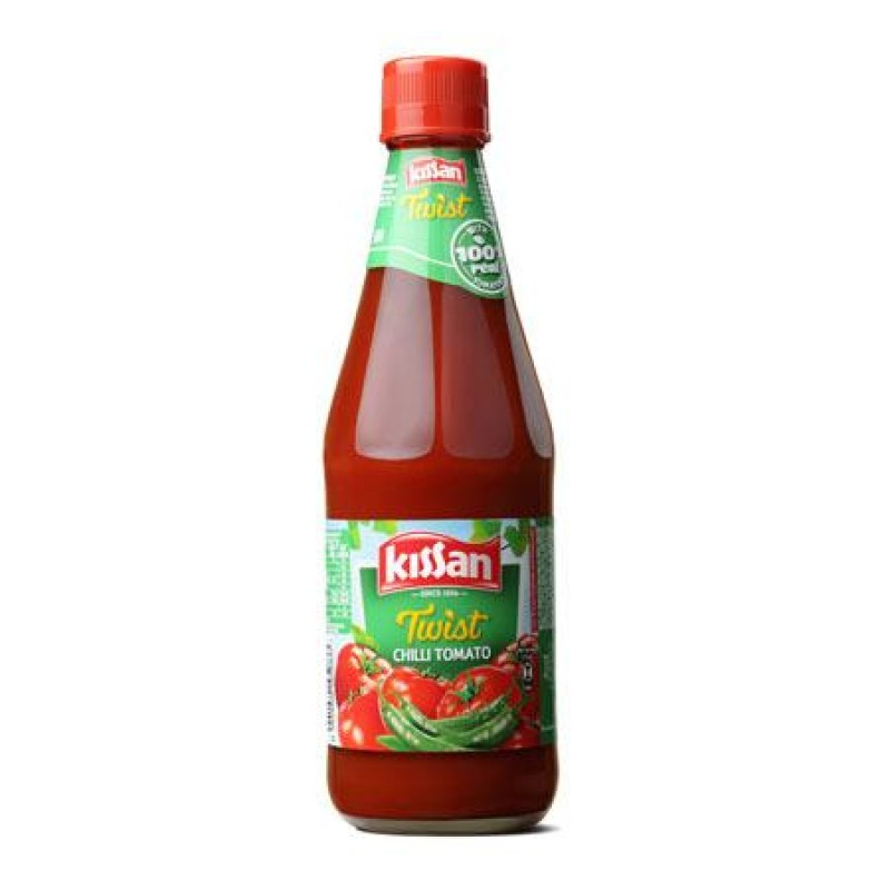 KISSAN CHILLI TOMATO SAUCE - 500 GM