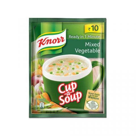 KNORR MIXED VEGETABLE SOUP - 10 GM