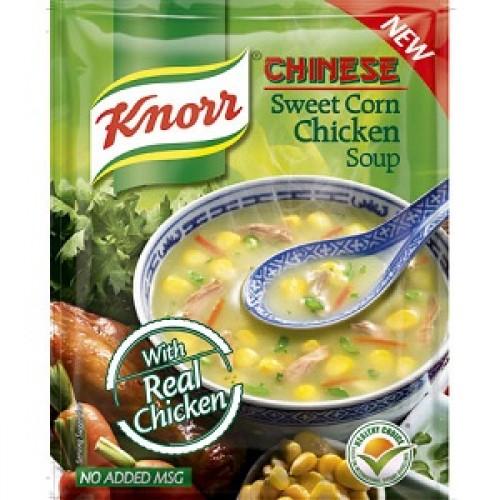 KNORR CHICKEN SOUP - SWEET CORN - 42 GM