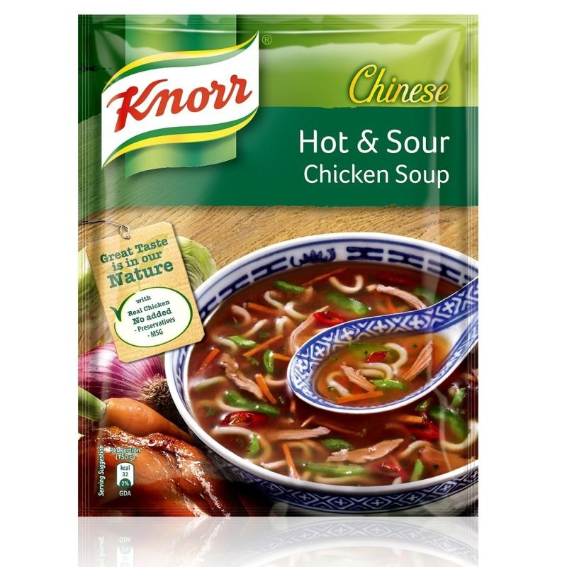 KNORR CHICKEN DELITE SOUP - 10 GM