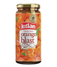 KISSAN ORANGE BLAST JAM - 500 GM