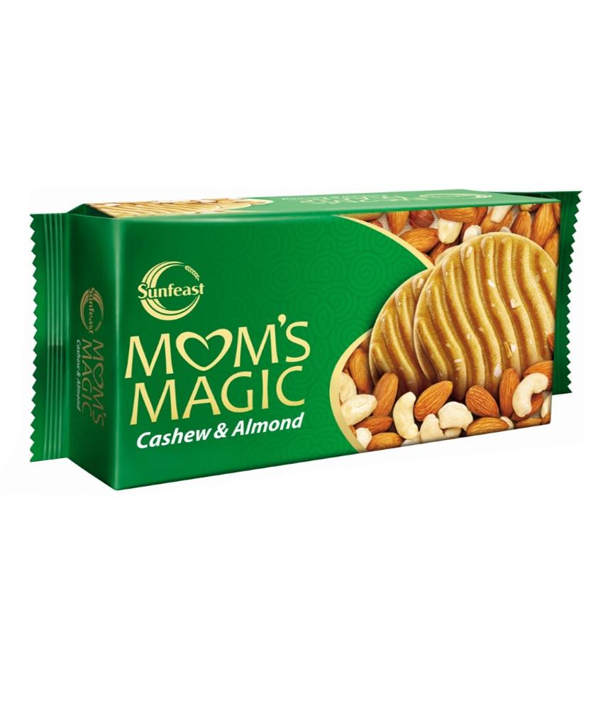 SUNFEAST MOMS MAGIC BISCUITS - CASHEW & ALMOND - 200 GM
