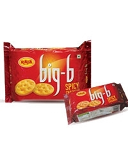 RAJA BIG B SPICY CRACKERS BISCUITS - 250 GM