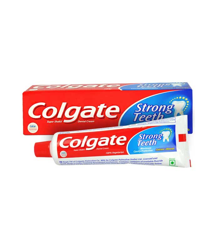 COLGATE STRONG TEETH TOOTHPASTE - 25 GM