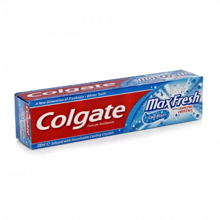 COLGATE MAXFRESH COOLING CRYSTALS BLUE TOOTHPASTE - 150 GM
