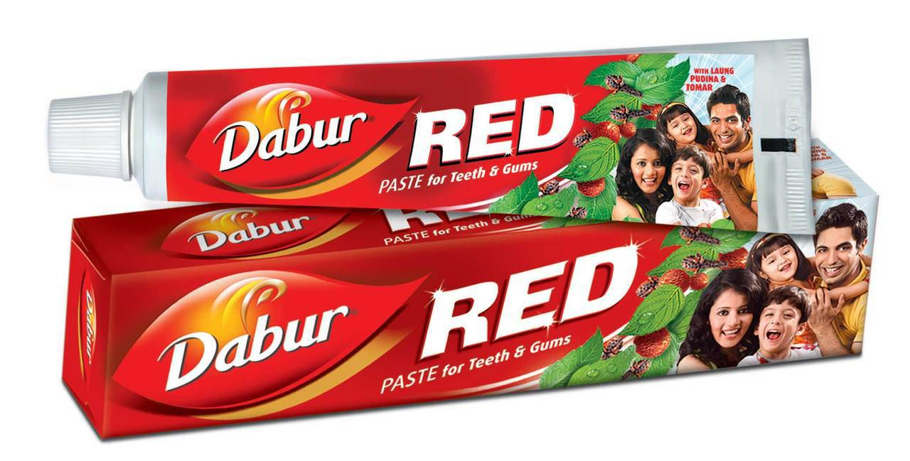DABUR RED TOOTHPASTE - 200 GM FREE SENSITIVE TOOTHBRUSH
