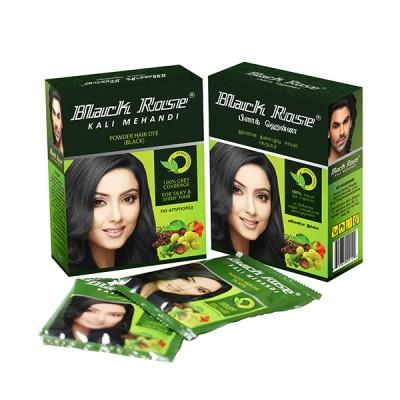 BLACK ROSE KALI MEHANDI MEHENDI POUCH - 10 GM