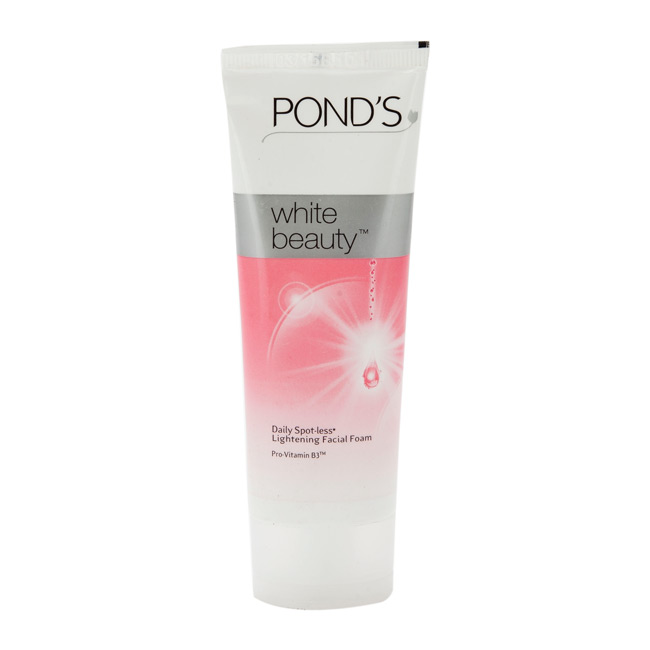PONDS WHITE BEAUTY DAILY SPOT-LESS LIGHTENING FACIAL FOAM - 100 GM