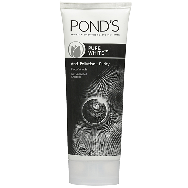 PONDS PURE WHITE ANTI POLLUTION & PURITY FACE WASH - 100 GM