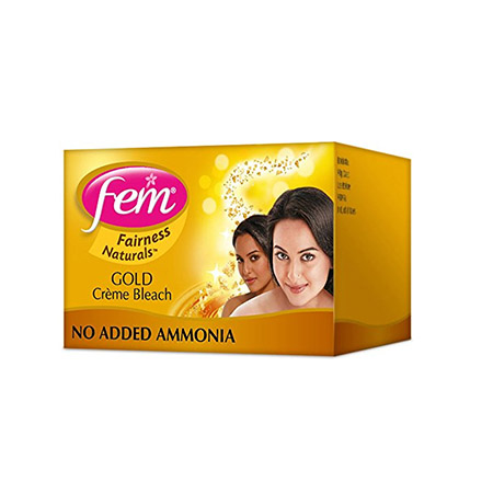 FEM GOLD CREME BLEACH - 8 GM