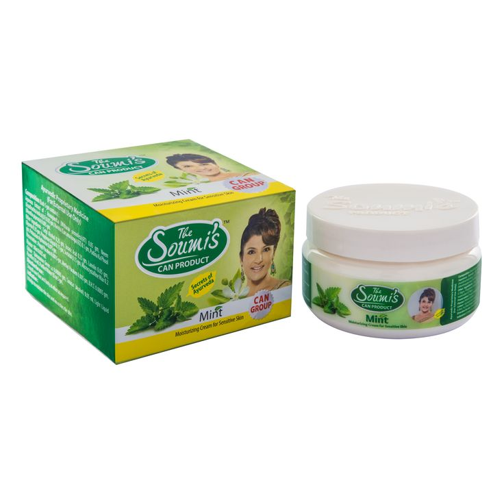 THE SOUMIS CAN PRODUCT MINT CREAM - 50 GM