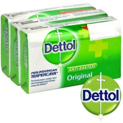 DETTOL SOAP ORIGINAL - FAMILY PACK - 75 GM X 3 PLUS 1 FREE