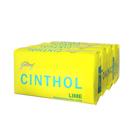 GODREJ CINTHOL LIME SOAP - 4 X 75 GM