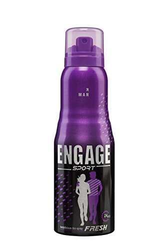 ENGAGE BODYLICIOUS DEODORANT SPRAY - SPORT (FOR MEN) - 165 ML