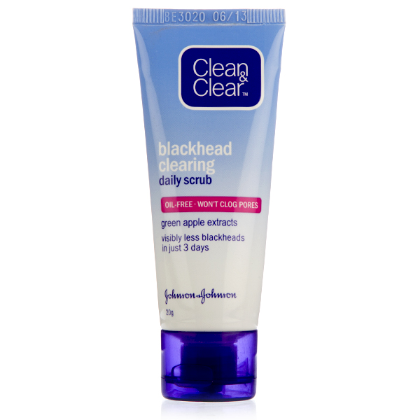 CLEAN & CLEAR BLACKHEAD CLEARING DAILY SCRUB - 40 ML