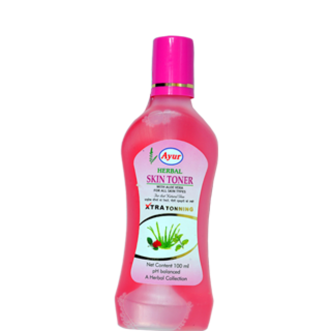 AYUR HERBAL SKIN TONER ROSE & ALOE VERA - 100 ML