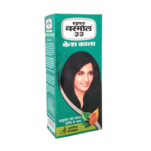 SUPER VASMOL 33 KESH KALA HAIR DYE - 100 ML