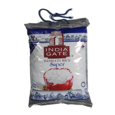 INDIA GATE BASMATI RICE SUPER - 1 KG
