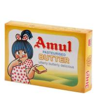 AMUL BUTTER PASTEURISED - 100 GM