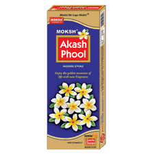 AKASH PHOOL INCENSE STICKS - DHUPKATHI - 120 GM FREE JUMBO MATCH BOX