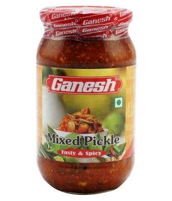 GANESH MIXED PICKLE OFFER - 400 GM GET 50 PERCENT OFF