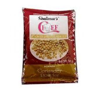 SHALIMAR DHANIA DHANIYA POWDER -  CORIANDER - DHONE - 50 GM
