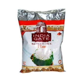 INDIA GATE BASMATI RICE TIBAR - 1 KG