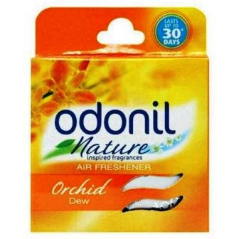 ODONIL NATURE ORCHID DEW AIR FRESHENER (BLOCK) - 50 GM