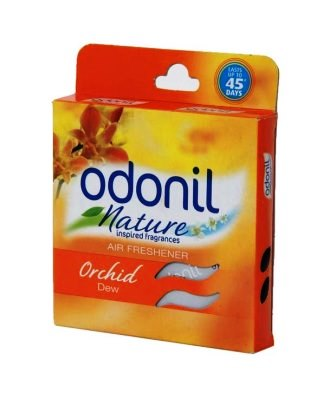 ODONIL NATURE ORCHID DEW AIR FRESHENER (BLOCK) - 75 GM