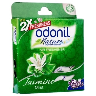 ODONIL NATURE JASMINE MIST AIR FRESHENER (BLOCK) - 75 GM